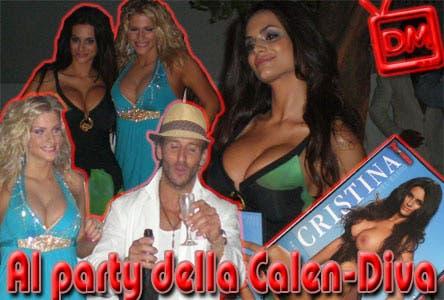 Cristina Del Basso - Party Calendario