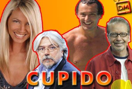 Cupido: Federica Panicucci, Rossano Rubicondi, Alessandro Meluzzi, Riccardo Sorrentino