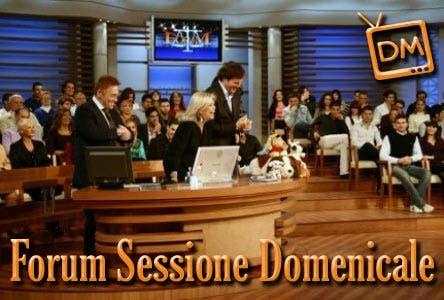 Forum - Sessione Domenicale