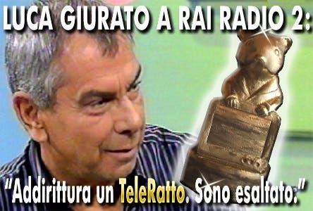 Luca Giurato - Rai Radio 2