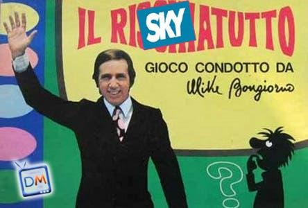 Mike Bongiorno su Sky con Riskytutto @ Davide Maggio .it