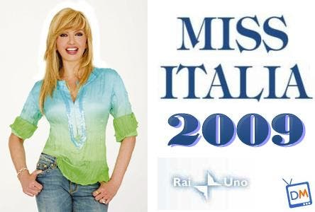 Milly Carlucci - Miss Italia 2009
