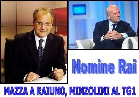Mauro Mazza e Augusto Minzolini