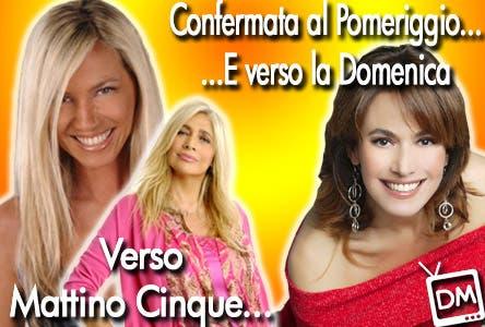 Barbara D'Urso, Mara Venier e Federica Panicucci - Mattino Cinque