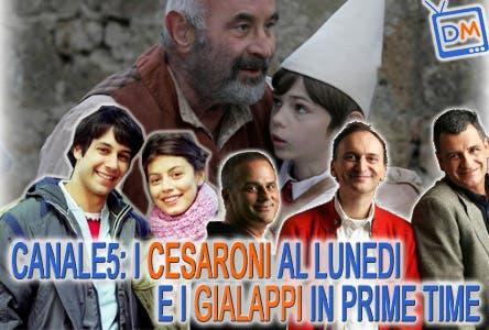 I Cesaroni, Gialappa's Band, Pinocchio