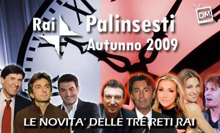 RAI Palinsesti 2009/2010