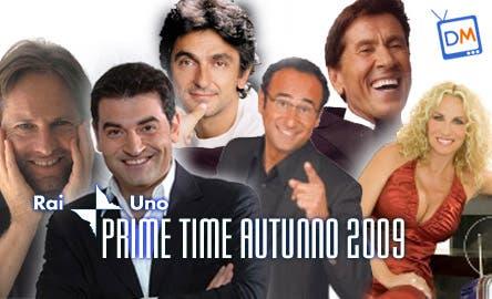 RAI Palinsesti 2009/2010 - Prime Time Raiuno