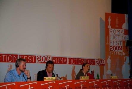 Roma Ficton Fest 2009 - Eric Dane e Justin Chambers