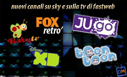 Sky - Fastweb, nuovi canale estate 2009
