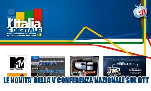 V Conferenza Nazionale Digitale Terrestre