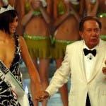 Claudia Andreatti con Mike Bongiorno