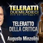 TeleRatto della Critica 2010 Augusto Minzolini
