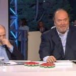 Maurizio Costanzo e Giampiero Galeazzi a Notti Mondiali