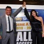 Cristian Panucci e Ilaria D'Amico, Sky Sport