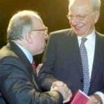 Fedele Confalonieri e Rupert Murdoch