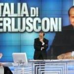 Porta a Porta, Bruno Vespa con il Presidente del Consiglio Berlusconi