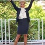 Simona Ventura, presentazione Quelli che il Calcio 2010