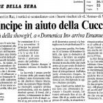 Il Corriere cita oggi DM