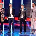 Xfactor 4, Mara Maionchi con Ruggero, Davide e Stefano