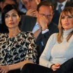 Mara Carfagna e Alessandra Mussolini