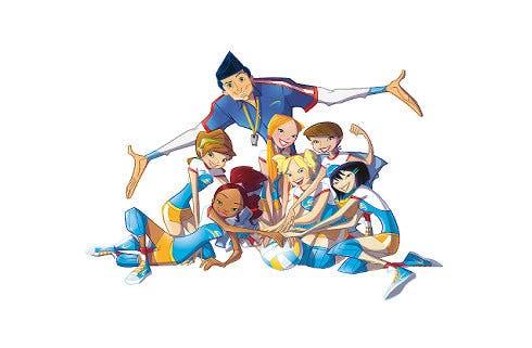 Spike team il cartoon sulla pallavolo ideato da andrea lucchetta