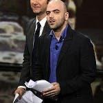 Vieni via con me 4 - Fabio Fazio e Roberto Saviano