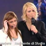 Amici 10, Maria De Filippi con Antonella Lafortezza