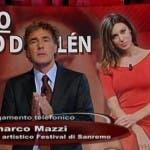 Arena, Massimo Giletti e Belen Rodriguez