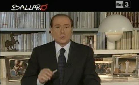 Silvio Berlusconi, Ballarò