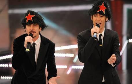 Festival di Sanremo 2011 - Luca e Paolo nella quarta puntata