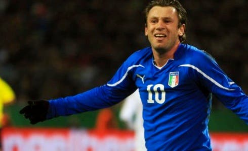 Antonio Cassano, Germania-Italia