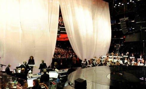 Sanremo 2011, il palco