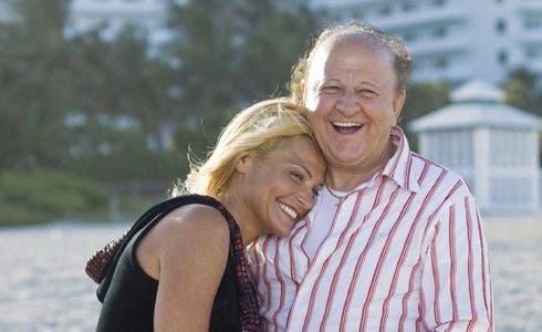 Simona Ventura e Massimo Boldi