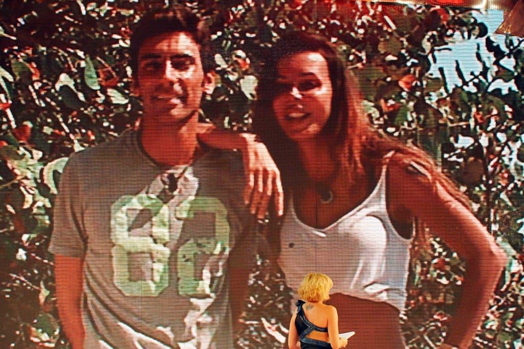 ISOLA DEI FAMOSI 8 - OTTO - Nina Moric e Francesco Mogol