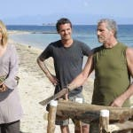 Isola dei Famosi 8, quarta puntata  - Adriano e Laerte Pappalardo con Lisa Giovagnoli