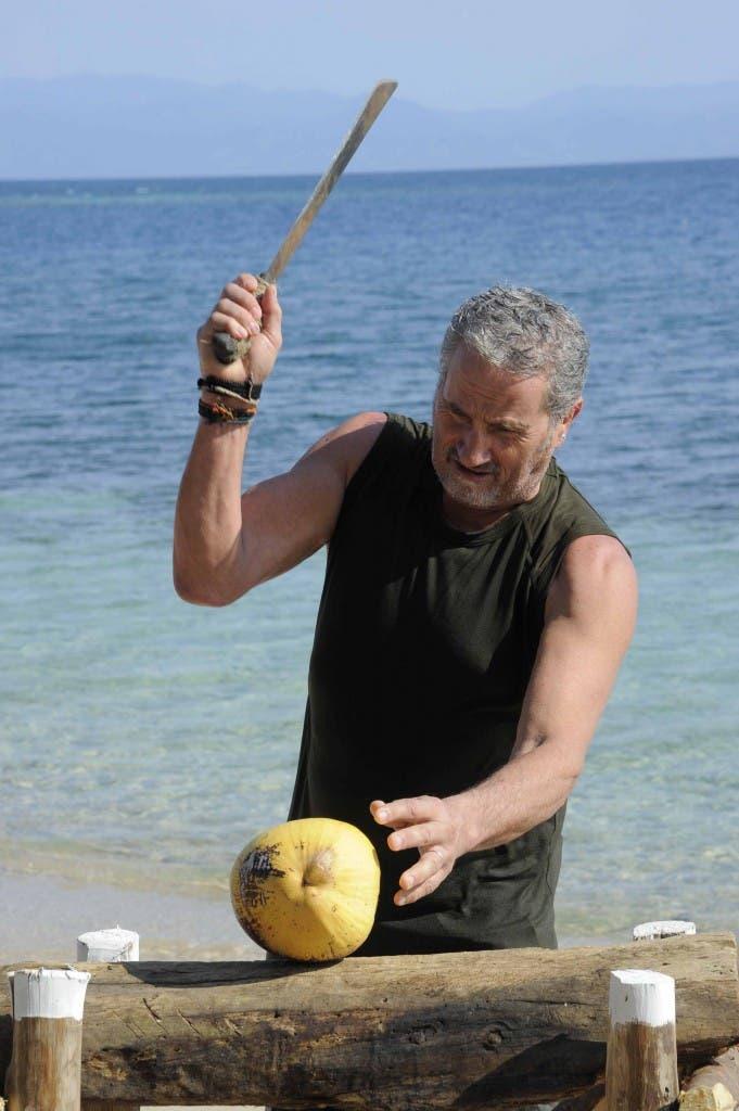 Isola dei Famosi 8, quarta puntata  - Adriano Pappalardo