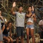 Isola dei Famosi 8, quarta puntata  - Nina Moric e Francesco Rapetti