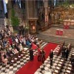 Matrimonio William e Kate in diretta - Il principe a Westminster Abbey