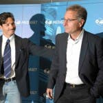 Paolo Bonolis con Piersilvio Berlusconi