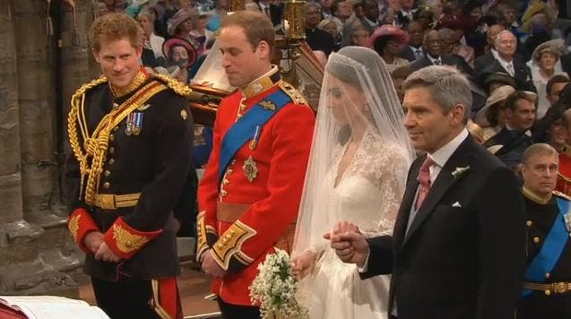 Royal Wedding Princie Harry William e Kate Middleton a Westminster Abbey 2 - William Kate Wedding Date