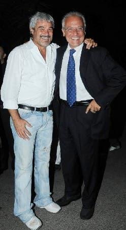 Pino Insegno e Mauro Mazza