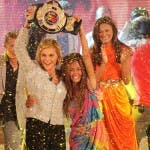 Isola dei Famosi 8 - La vincitrice Giorgia Palmas con Simona Ventura
