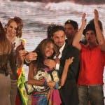Isola dei Famosi 8 - La vincitrice Giorgia Palmas con il marito