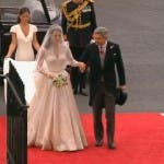 Royal Wedding, Kate Middleton at Westminster Abbey 2