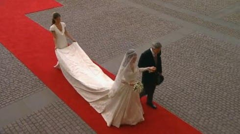 Royal Wedding, Kate Middleton at Westminster Abbey