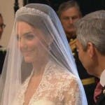 Royal Wedding, Kate Middleton at Westminster Abbey 4