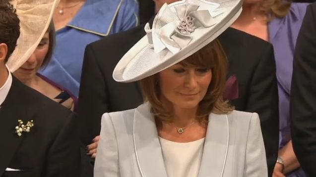 Royal Wedding: la mamma di Kate Middleton