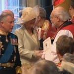 Royal Wedding: il Principe Carlo e Camilla al matrimonio di William e Kate Middleton