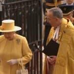 Royal Wedding: la Regina Elisabetta at Westminster Abbey