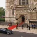 Royal Wedding: il Principe William a Westminster Abbey